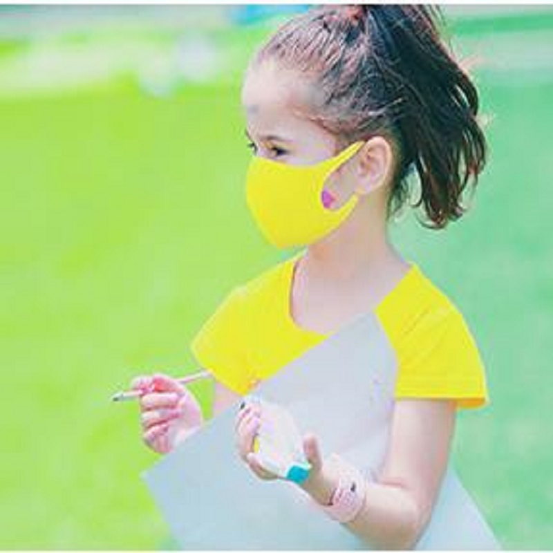 3Pcs/set Earloop Mask Cycling Anti Dust Haze Mouth Face Masks For  Boy Children Kids
