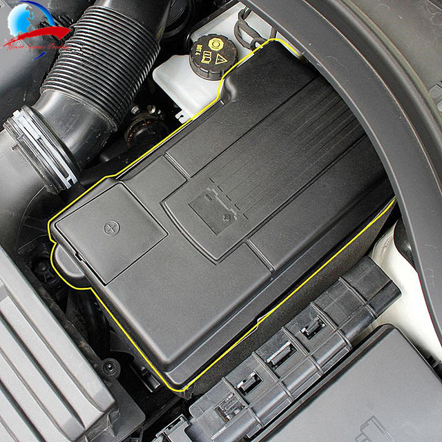 Coche de la batería del motor a prueba de polvo de la cubierta impermeable para Skoda Kodiaq Octavia 5E (A7) TIGUAN TOURAN Passat B8 Golf Sportsvan