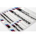 Автомобиль Для Укладки///M Performance Power Motorsport Автомобилей Наклейки И Отличительные Знаки Комплект для BMW X1 X3 X5 X6 3 серии 5 Серии 7 серии