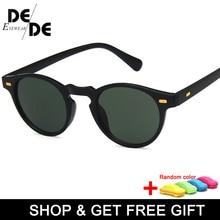 Hot Sale Classic Retro Small Round Sunglasses Fashion Box Men and Women Trend Wild with box