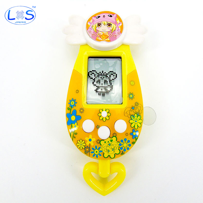 (LONSUN)8 Style Elves Doll Ver Tamagochi Nostalgic Machine Game Virtual Cyber Pet Electronic Toy Funny Gift Kids Toys
