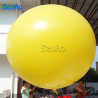AO111 BENAO Free shipping Yellow inflatable balloon helium blimp, PVC inflatable helium sky balloon for advertising