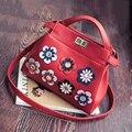 Bailar женские handsbags плеча сумки аппликации Италия дизайнер роскошные известные бренды высокого качества pu кожа горячая продажа