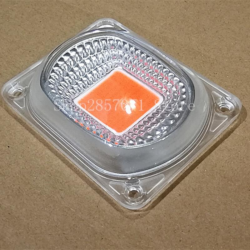 1set LED COB Grow Chip+Lens Reflector 50W 30W 20W 220V For LED Flood Light DIY Outdoor Light Need Heatsink For Cooling