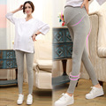 Pantalones de Maternidad de primavera Verano para Las Mujeres Embarazadas Polainas de Maternidad de Algodón Ropa de Embarazo Las Mujeres Embarazadas Pantalones y Leggings