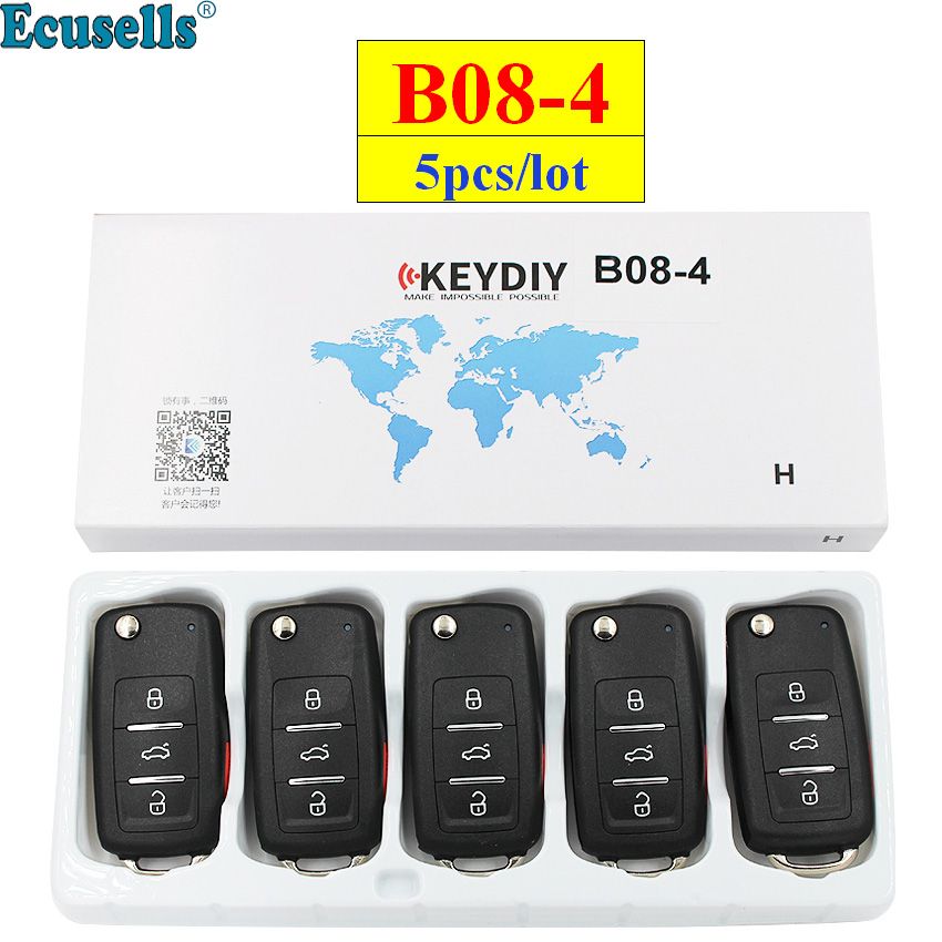 5pcs lot KEYDIY B series B08 3 1 B08 4 4 button universal remote control for