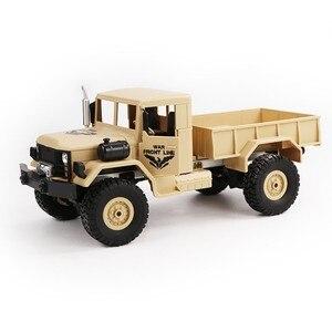 Image 1 - JJRC Q62 1:16 4wd rc auto militär karte klettern auto off road fahrzeug simulation militär modell klettern off  straße fahrzeug