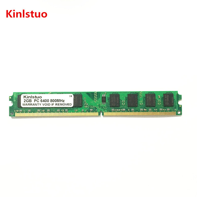 Kinlstuo DDR2 2GB Ram 800Mhz 667Mhz work all INTEL and AMD hight compatible memory free shipping