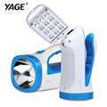 YAGE portable light led flashlight hunting lanterns camping light portable spotlight handheld spotlight desk lamp light 2-modes