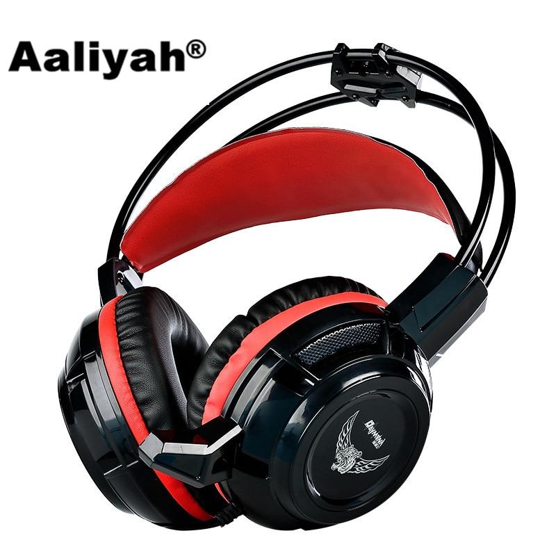все цены на Aaliyah X7 Wired Stereo Gaming Headset Headphones With Microphone Super Bass Volume Control HiFi Headsets for Computer PC Gamer онлайн