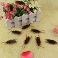 10pcs/lot Prank Funny Trick Joke Toys Special Lifelike Model Simulation Fake Rubber Cockroach Cock Roach Bug Roaches ToyBIG SIZE