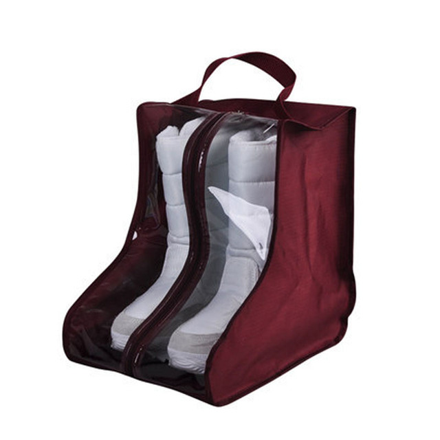 New Waterproof PVC Dustproof Cover Shoes Protector Storage Bag for Shoes  Boots Bag Organizer Shoes Boots e73acabfa1