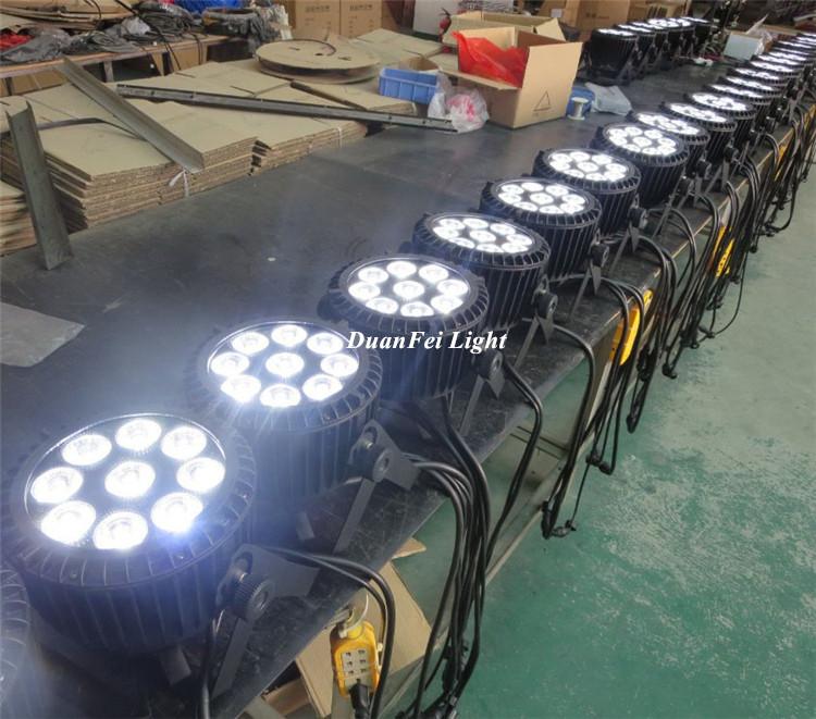 9x12w led slim par waterproof-7