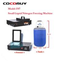 NOVECEL F07 mini Vloeibare Stikstof Vriezer lcd-scherm Separator/lcd separator machine + 10L tank (lege) voor lcd reparatie