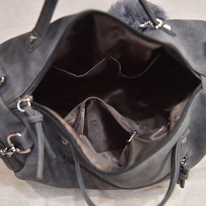 de ombro Nubuck Leather Women Handbag Fashion : Vintage Nubuck Leather Women Bags
