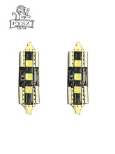 2Pcs Car LED 31MM 3W 320LM 6000K 3LED 3030 SMD White 12V-24V  Light bulbs Light-emitting diode free of freight