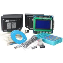 4 Осевой ЧПУ Комплект Маршрутизатора DIY 5-Осей Интерфейсная Плата + 4 * TB6600HG Драйвер Шагового Мотора