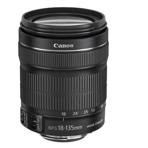 Bulk Pack - <font><b>Canon</b></font> 18-135 STM Lens <font><b>Canon</b></font> EF-S 18-<font><b>135mm</b></font> f/3.5-5.6 IS STM Lenses for 700D 750D 800D 7D 70D 60D Rebel T3i T4i T5i image