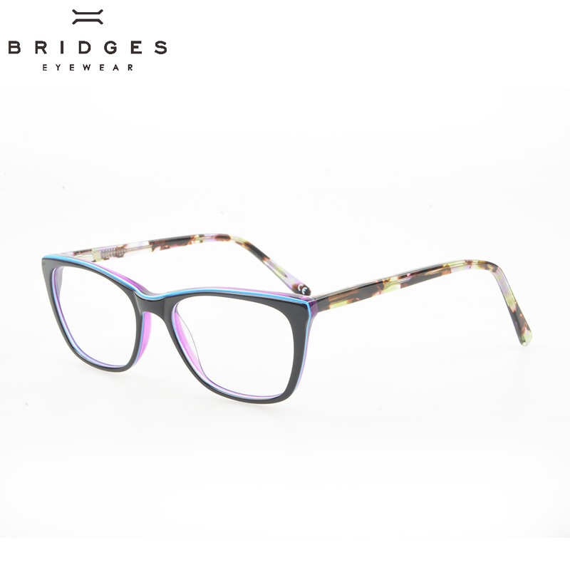 BRIDGES EYEWEAR Women Stylish Brand Designer Acetate Optical Glasses - Kläder tillbehör