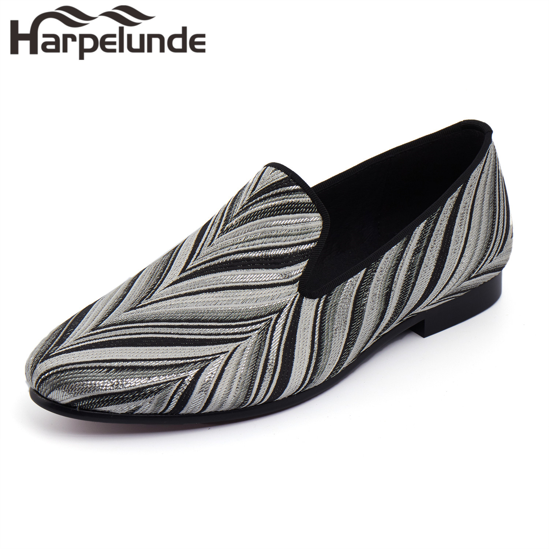 Harpelunde Новое поступление Мужские модельные туфли слипоны ручной работы Лоферы для женщин Размеры 6 до 14