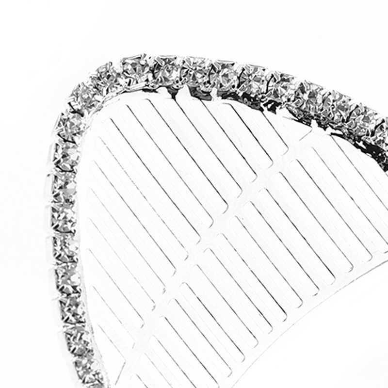 М мизм металлические кошачьи уши Стразы резинки для волос Хрустальная головная повязка, аксессуары для волос обруч для волос одежда для женщин девочек