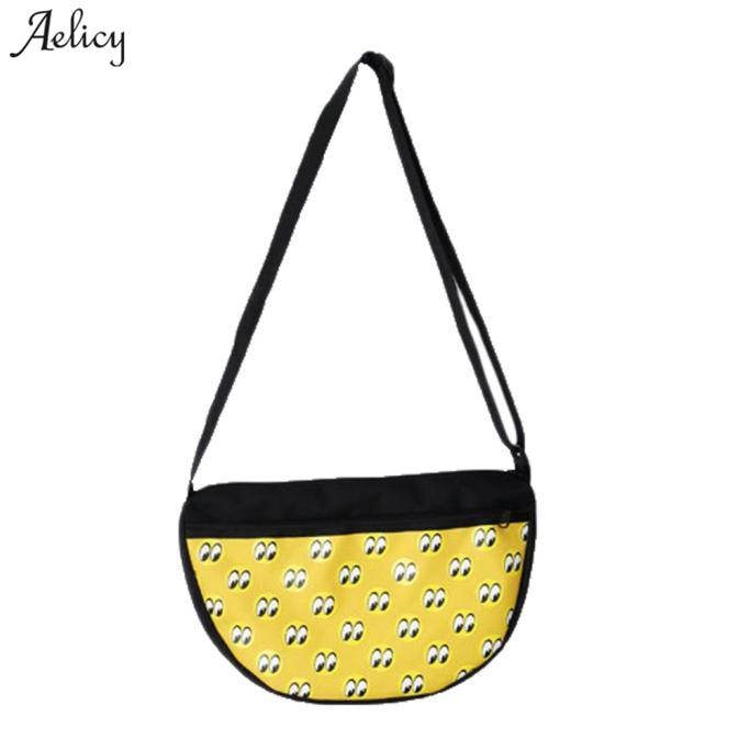 Dropshipping New 2018  Sellingwomen's Shoulder Bag Eye Pattern Messenger Bag Chest Pack Hobo Bag Bolsa Feminina Sac