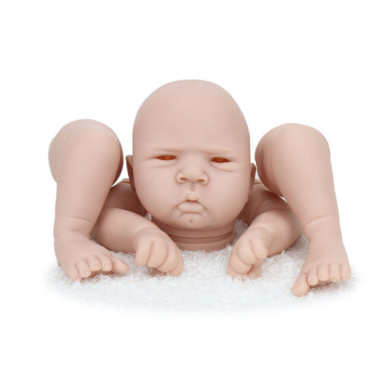 New Reborn Baby Doll Kits Suit for 20 inch Realistic BeBe Reborn Babies 50CM Handmade Reborn Doll Accessories For Children Toys warkings reborn