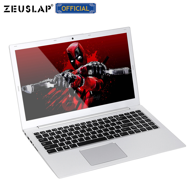 ZEUSLAP 15.6 polegada 8 GB de RAM + 128 GB SSD + 1 TB HDD Intel Core i7-6500U Nvdia GT940M Ultrafinos gaming Laptop Notebook Computador de Metal