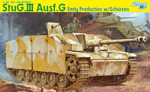 Dragon 1:35 WWII StuG III Ausf G Early w/ Schurzen - Plastic Model Kit #6365 мотопомпа elitech мб 500 д 50