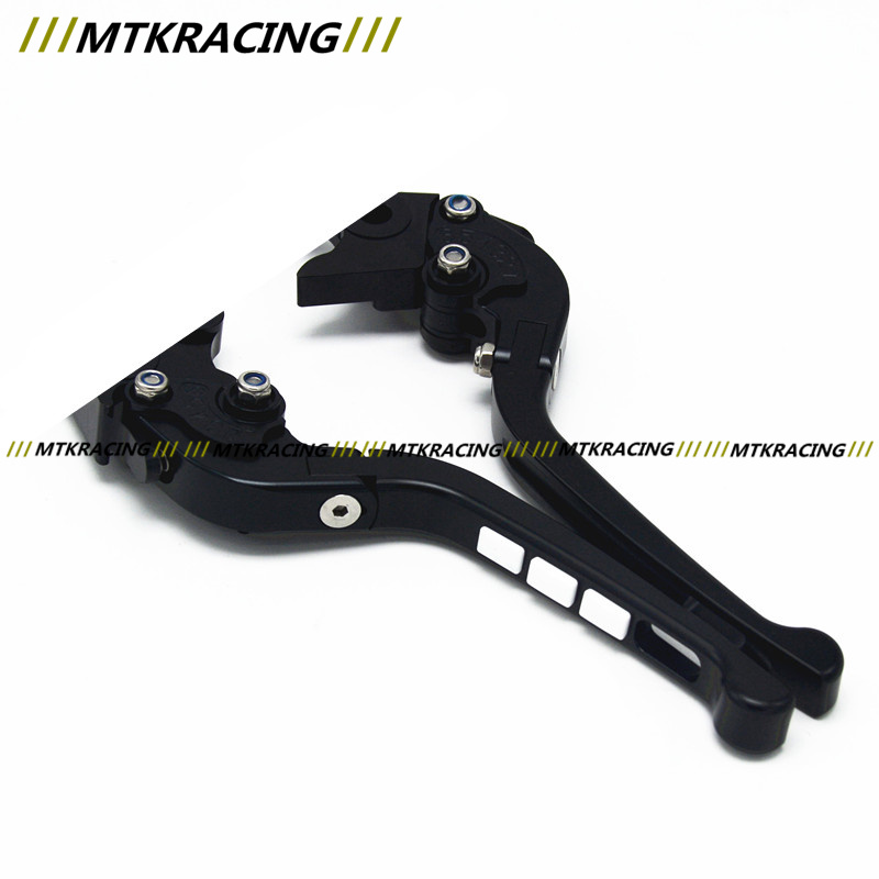 Free delivery Fit KAWASAKI ZX6R / ZX636R / ZX6RR Motorcycle Modified CNC Non-slip Handlebar single-Folding Brakes Clutch Levers free delivery fit moto guzzi breva 1100 1200 sport motorcyclemodified cnc non slip handlebar single folding brakes clutch levers