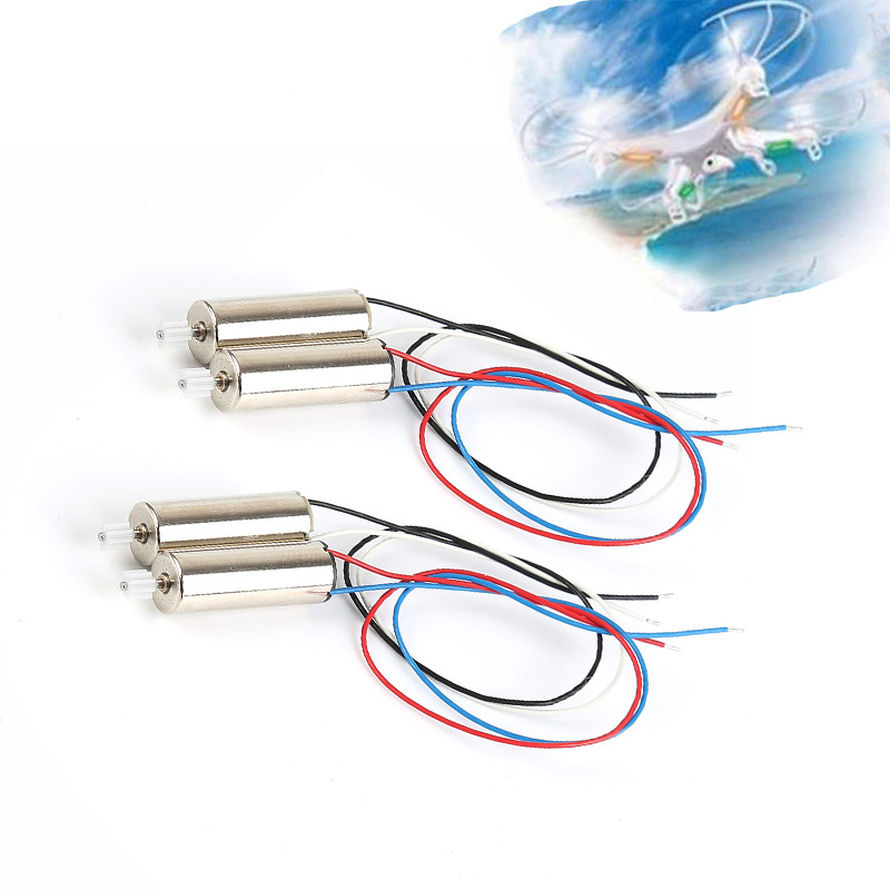 4PCS Motor 2pcs Engine A and 2pcs Engine B RC Quadcopter Spear Parts Accessories Original for SYMA X5C X5 Skytech M68 b spear spear multimate tm user s guide pr only