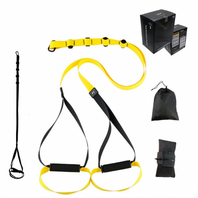 Top Sale Fitness Crossfit Resistance Bands Hanging Training Straps Workout Sport Home Equipment Spring Exerciser Pro 3 TYPES
