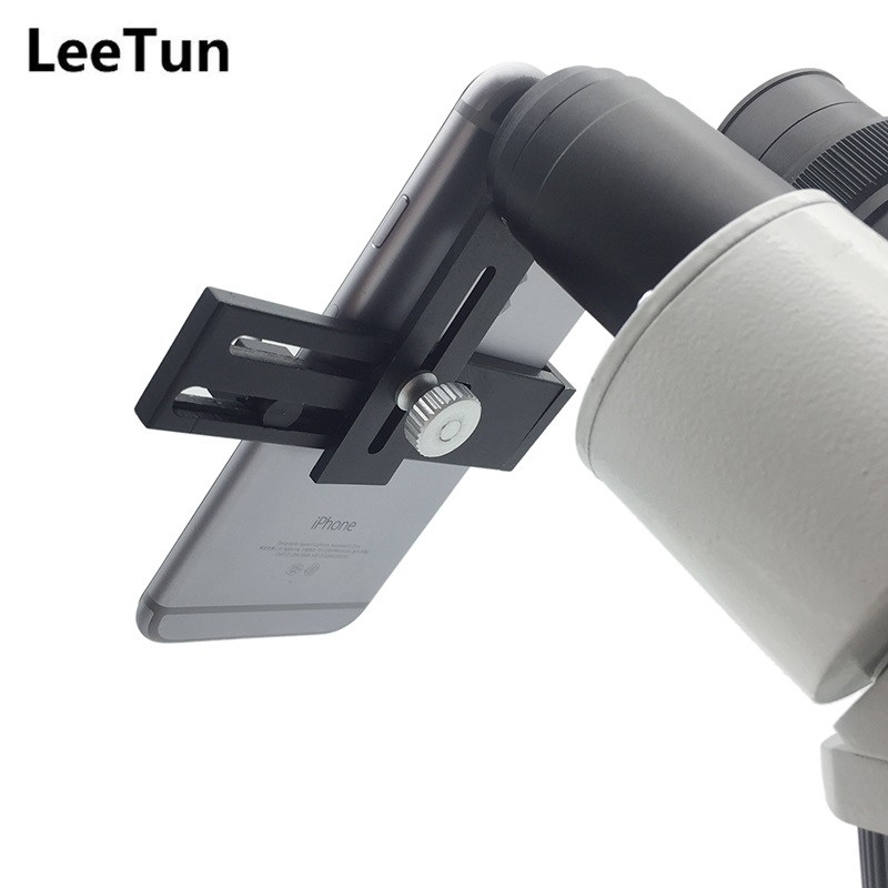 LeeTun 30.5 mm Interfaces Mount Adapter Eyepiece Lens Connect for Stereo Microscope with Mobile Phone Observing Take Photo Video microscope accessories mobile 00 foot power dimming