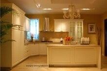 PVC/vinyl kitchen cabinet(LH-PV079)