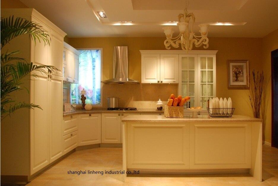 PVC/vinyle cuisine cabinet (LH-PV079)