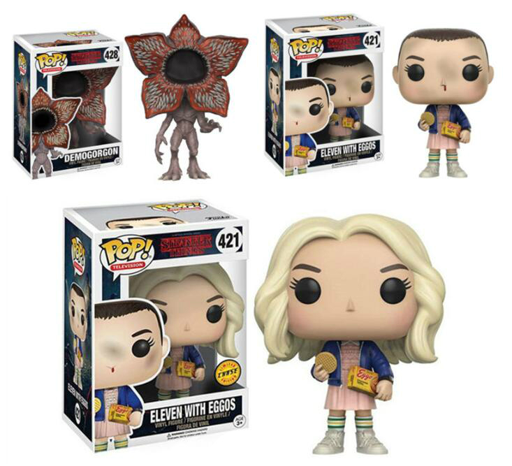 Funko POP Stranger Things Little Eleven Doll Collection Toy PVC 2019 Action Figure Boy Toys For Chlidren