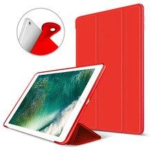 Slim Smart-cáscara Del Caso Del Soporte con TPU Suave de La Contraportada para Apple iPad Mini Elegante de la Caja con Auto Sleep/Wake Función Mini 1 2 3