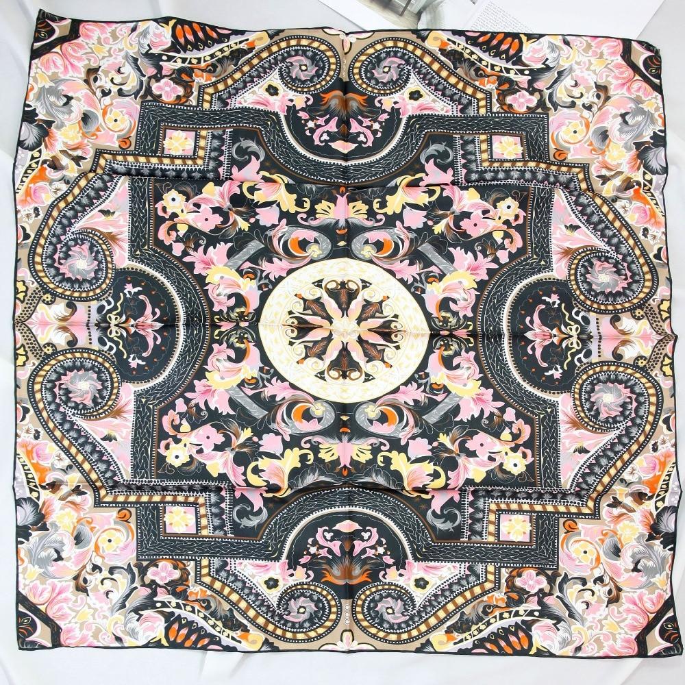ELEGANT HANDMADE BRAND 100%Twill Silk Scarf TWIC-49945B