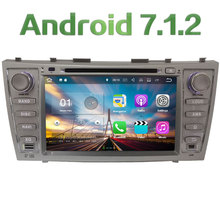 """8"""" Android 7.1 Quad Core 2GB RAM 3G/4G SWC DAB Multimedia Car DVD Player Stereo Radio GPS for Toyota Aurion Camry V40 2007-2011"""