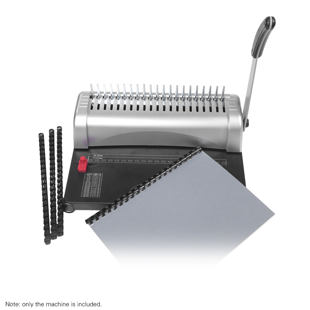 Binding-Machine Puncher-Binder A4-Paper Punching-450-Sheets 21-Holes Home-Tools Office