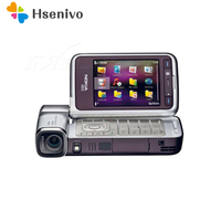 Восстановленный Оригинальный разблокированный сотовый телефон Nokia N93i WI FI 3g обновленные телефоны Поддержка русской клавиатуры Восстановле