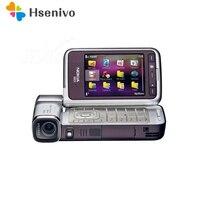 Отремонтированный N93i Оригинальный разблокированный телефон Nokia N93i сотовый телефон WI FI 3g отремонтированные телефоны русская клавиатура Под
