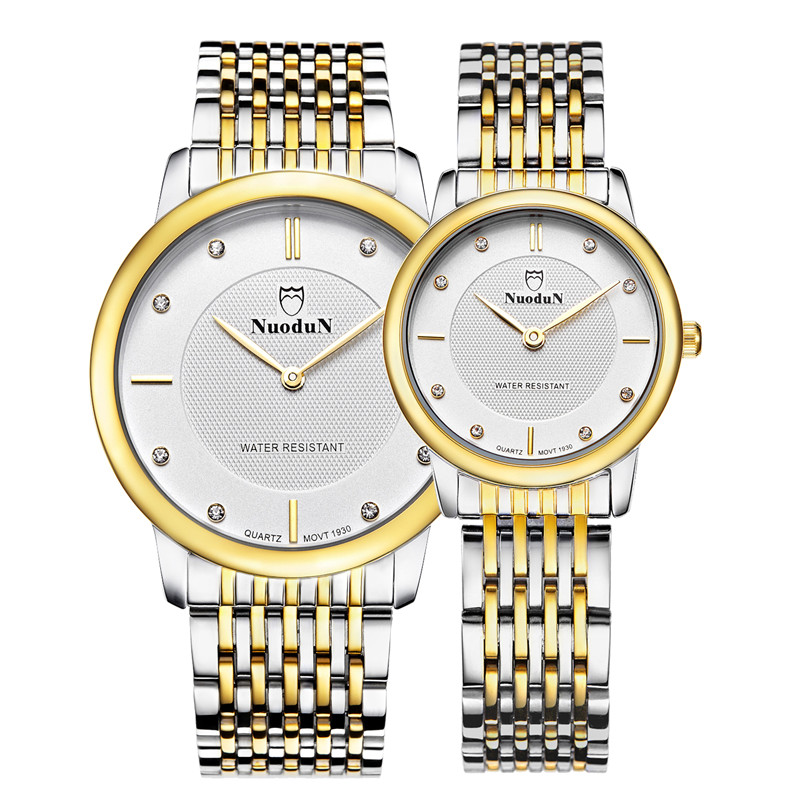 High Quality Couple Watches For Lovers Fashion Waterproof Quartz Watch Simple Watches Men Luxury Wristwatch Montres