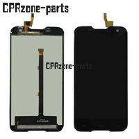 5 0 Inch For Blackview BV5000 LCD Display With Touch Screen Digitizer Assembly Black By Free
