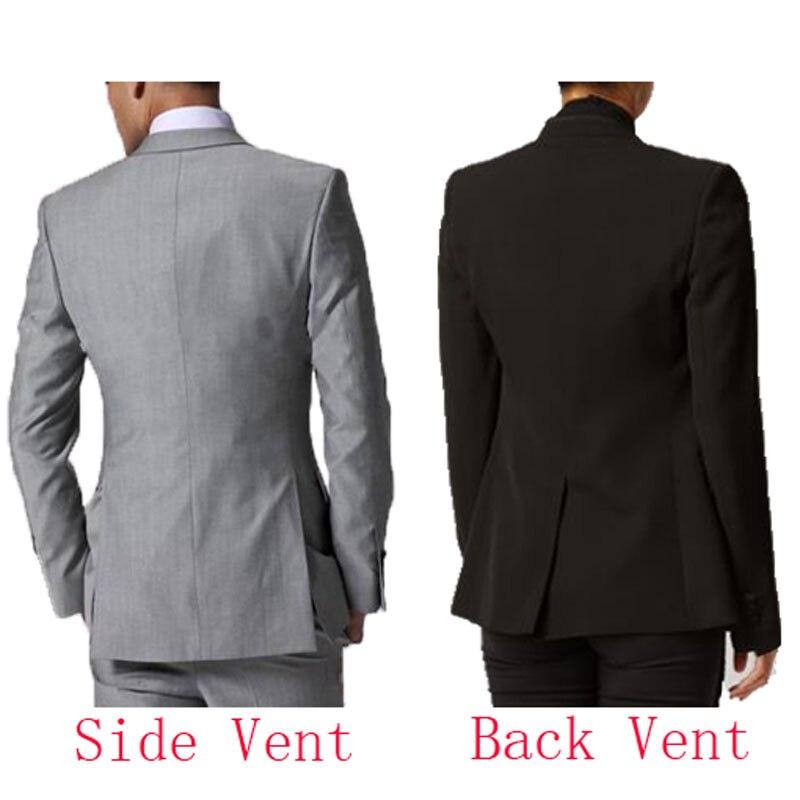 Black Costume Homme Men Suits for Wedding Men Blazers Jacket Peak Lapel Design Groom Tuxedos Coat Pants Terno Masculino 2Piece in Suits from Men 39 s Clothing