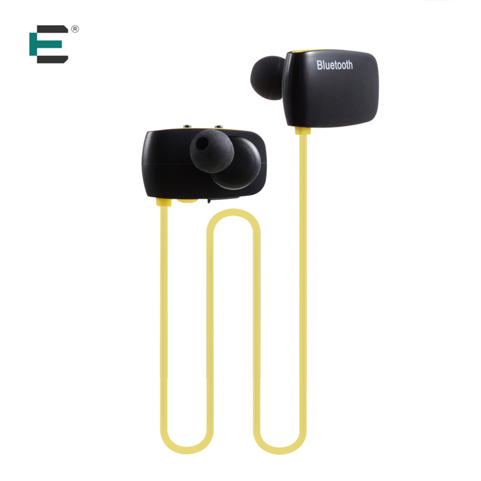 Bluetooth V4.1 Neckband Earphone Wireless Sports Stereo Sweatproof volume control Headphone + Mic Earbud For  android IOS remax rb s7 headphone magnetic neckband bluetooth v4 1 wireless hd stereo sports earphone music headphone with mic multi connect