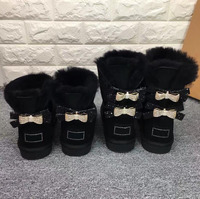 New Arrival 2019 Australia Woman Winter Classic Snow Boots Genuine Sheepskin Women's Snow Boots High Quality Shoes US4 13