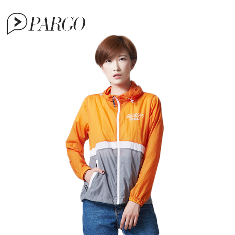 PARGO Women Quick Dry Sun Protection Thin Skin Coat Long Sleeves Anti-UV Sport Fish Clothing Fishing Hooded Breathable Shirt