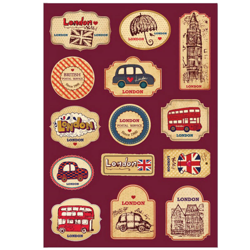 Popular Luggage Travel Stickers-Buy Cheap Luggage Travel ...