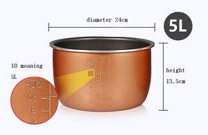 Image 4 - Pentola a pressione elettrica fodera multicooker ciotola 4L/5L/6L litro non stick pan doppio spruzzo ispessimento